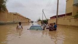 Akibat hujan deras, dua warga Libia tewas dan puluhan rumah tenggelam di Aljazair
