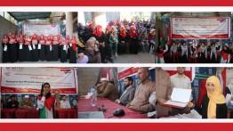 Kondisi diblokade, PPPA Daarul Qur'an Indonesia Cabang Gaza Adakan Peringatan Isra' Mi'raj, acara diadakan oleh Anak-anak Gaza.