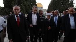 Presiden Bosnia dan Herzegovina melaksanakan shalat di Masjid Al-Aqsa