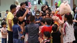 Hikayat al-Wattan gelar acara hiburan untuk anak-anak penderita kanker di Rumah Sakit Rantisi Jalur Gaza
