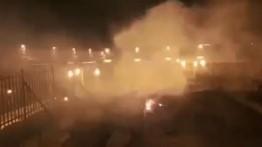Bersamaan dengan kebakaran besar di Katedral Notre-Dame Perancis, kompleks Masjid Al-Aqsa dilahap api