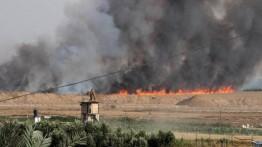 4 hektar lahan pertanian Israel dilahap api akibat layangan warga Gaza