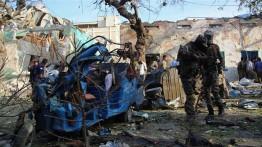 Serangan bom beruntun di Somalia tewaskan belasan warga sipil