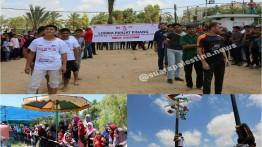 Peringati HUT Ke-73 Proklamasi RI, warga Gaza antusias ramaikan perlombaan 'tujuhbelasan'