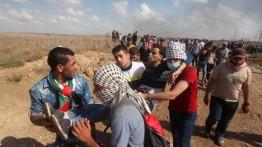 Demonstrasi di sejumlah wilayah Palestina, belasan warga dan aktivis asing luka-luka