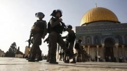 Pasukan Israel siaga hadapi demonstrasi di Al-Aqsa pasca shalat Jumat