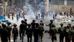 Konfrontasi di Qalqiliya, pasukan Israel bakar rumah seorang warga Palestina