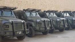 PA menerima kendaraan lapis baja dari Yordania