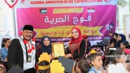 TK Nurani Indonesia di Gaza wisudakan puluhan anak Palestina
