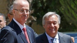 Sekjen PBB Antonio Guterres bertemu keluarga tahanan Palestina