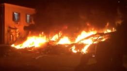 Ledakan besar di Jaffa, 4 Tewas dan 15 luka-luka