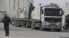 Israel tahan lebih dari 2000 truk barang ke Gaza