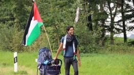 Setelah melakukan perjalanan 7 bulan dari Swedia menuju Palestina, Benjamin Ladra akhirnya tiba di Istanbul
