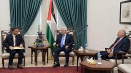 Presiden Mahmud Abbas sambut delegasi Oman di Ramallah