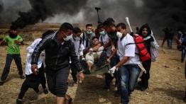 Demonstrasi menentang relokasi kedubes AS, lebih dari 50 warga Gaza Gugur dan 2000 luka-luka