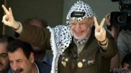 Komite Pusat Fatah di Gaza gelar peringatan 12 tahun gugurnya mantan Presiden Palestina Yasser Arafat