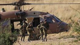 Helikopter IDF terjatuh dalam latihan di selatan Israel