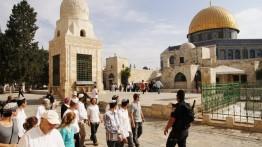 150 warga Yahudi dan seorang Menteri lakukan kunjungan ke Al-Aqsa