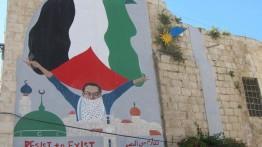Pendukung Palestina dalam intimidasi
