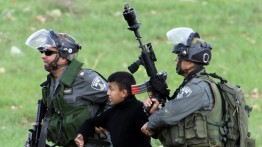 Selama 2017 Israel telah menangkap 1600 anak dibawah umur
