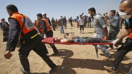 65 warga sipil luka-luka dalam demonstrasi peringatan 71 tahun tragedi ''Nakba'' di perbatasan Gaza