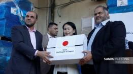 Jepang sumbang obat-obatan senilai satu juta dolar untuk Palestina