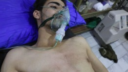 Puluhan orang terluka akibat serangan zat klorin di Ghouta