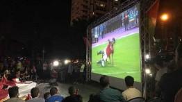 Mesir lolos ke piala dunia 2018 Gaza bereuforia