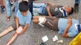 Pemukim Israel tabrak 3 siswa Palestina di Tepi Barat