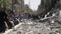Pemerintah Palestina dan Suriah akan merekonstruksi kamp Yarmouk setelah lebaran