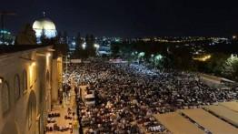Demi memperoleh kemuliaan malam Qadar, setengah juta warga Palestina penuhi Masjid Al-Aqsa
