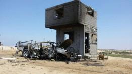 4 warga Gaza luka-luka dalam serangan roket di Beit Lahiya