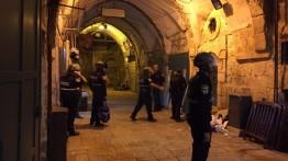 13 Warga sipil terluka dalam pembersihan demonstran di Bab al-Asbath