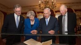 Theresa May: Inggris tidak akan meminta maaf atas Deklarasi Balfour