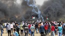 60 warga Palestina cedera dalam unjuk rasa The Great March