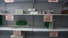 Kementerian Kesehatan: 49% obat-obatan Gaza telah habis