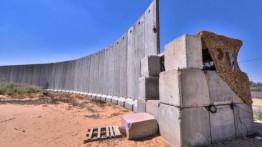 Israel bangun tembok beton di perbatasan timur Gaza