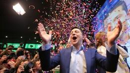 Komedian Volodymyr Zelensky memenangkan pemilihan presiden Ukraina