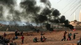 Satu warga meninggal dan 81 luka-luka dalam demonstrasi di tepi pantai utara Gaza