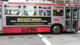"""Bus bertema """"Boikot Israel"""" diluncurkan di San Francisco"""