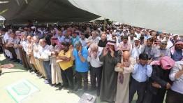 Warga Badui Palestina gelar aksi protes terhadap penggusuran Khan al-Ahmar