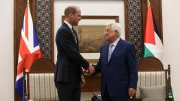 Pangeran William bertemu Presiden Mahmoud Abbas di Ramallah