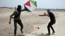 Layangan warga Gaza menyebabkan kebakaran di 17 lokasi di permukiman Israel selama 24 jam terakhir,
