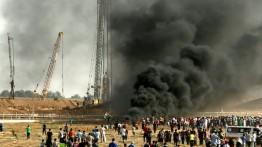 Satu warga tewas dan lainnya luka-luka dalam Aksi Protes di perbatasan Palestina