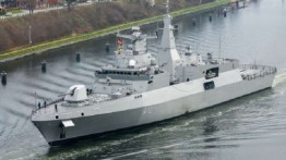 Mesir akan beli 2 kapal perang dari Jerman