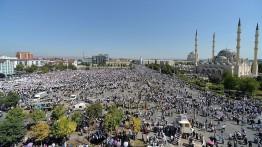 Warga Chechnya lakukan protes atas kekerasan terhadap Muslim Rohingya