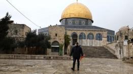 Imbas Corona, jemaah Jumat di Masjid Al-Aqsa berkurang