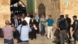 Lagi, 111 warga Israel terobos masuk Masjid Al-Aqsa