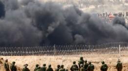 Akibat demonstrasi, satu keluarga Israel ketakutan dan pindah dari perbatasan Gaza