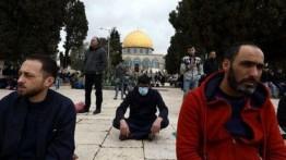 Tidak Peduli Corona, Ribuan Warga Palestina Tetap Laksanakan Shalat Jumat di Masjid Al-Aqsa